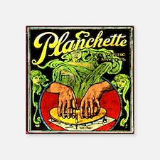 "Vintage Ouija planchette Square Sticker 3"" x 3"""