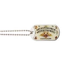 Vintage Egyptian Ouija Board Dog Tags