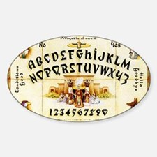 Vintage Egyptian Ouija Board Decal