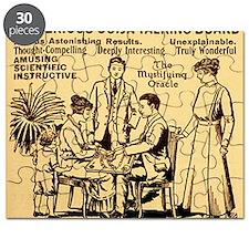 Vintage ouija talking board Ad Puzzle