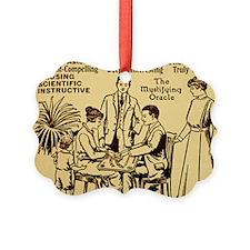Vintage ouija talking board Ad Ornament