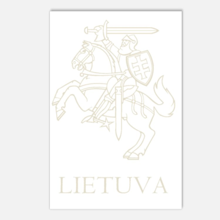 Retro Lithuania Postcards (Package of 8)