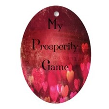 Prosperity Game Oval Ornament