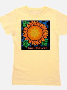 Sunflower Rapture Girl's Tee