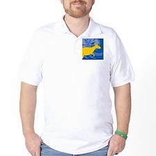 Kangaroo Round Ornament T-Shirt