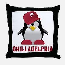 Chilladelphia Throw Pillow