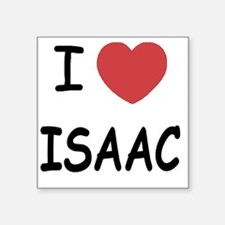 "I heart ISAAC Square Sticker 3"" x 3"""