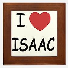 I heart ISAAC Framed Tile