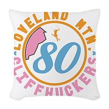 Loveland Cliffhuckers Woven Throw Pillow