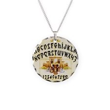 Vintage Egyptian Ouija Board Necklace