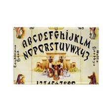 Vintage Egyptian Ouija Board Rectangle Magnet