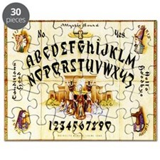 Vintage Egyptian Ouija Board Puzzle