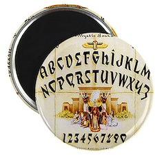 Vintage Egyptian Ouija Board Magnet