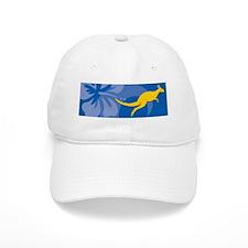 Kangaroo Stein Baseball Cap