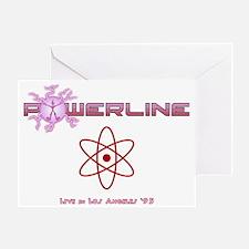 Powerline Concert Greeting Card
