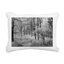 Platinum Forest Rectangular Canvas Pillow