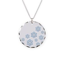 ICY BLUE SNOWFLAKES Necklace