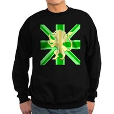 Green Union Jack Lion Rampant Sweatshirt