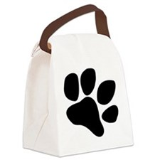 Paw 2 Canvas Lunch Bag