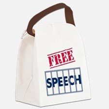 Free Speech Canvas Lunch Bag
