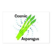 Cosmic Asparagus Postcards (Package of 8)