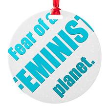 Feminist Planet Ornament