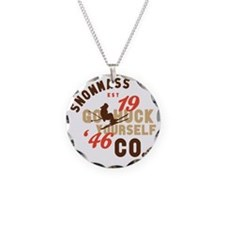 Go Huck Yourself Snowmass Necklace