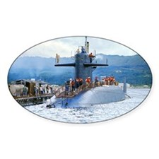 gc uss henry clay greeting card Decal