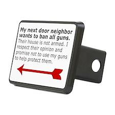 My next door neighbor on t Hitch Cover