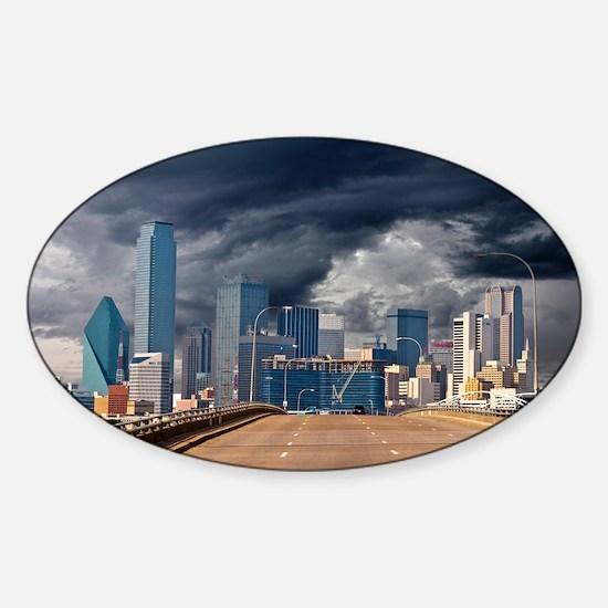 Storms Brewin  TGP_6205 Sticker (Oval)
