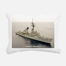 gc uss henry b wilson gr Rectangular Canvas Pillow