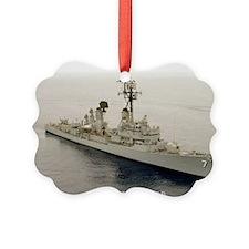 gc uss henry b wilson greeting ca Ornament