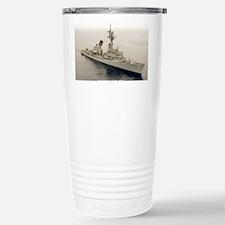gc uss henry b wilson greeting  Travel Mug
