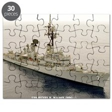 nc uss henry b wilson note card Puzzle