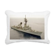 nc uss henry b wilson no Rectangular Canvas Pillow