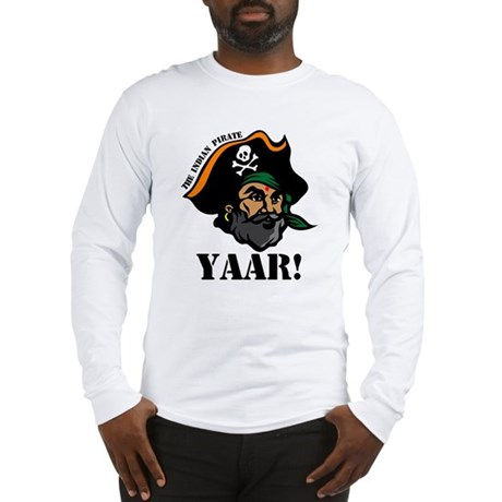 Indian Pirate - Yaar! Long Sleeve T-Shirt