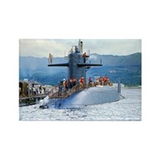 nc uss henry clay note card Rectangle Magnet