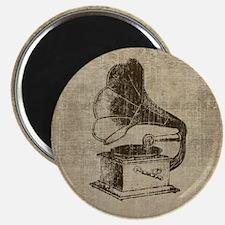 Vintage Phonograph Magnet
