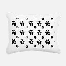 paw prints  for pillow c Rectangular Canvas Pillow