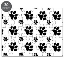 paw prints  for pillow case Puzzle
