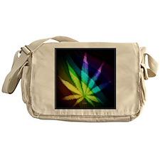 Rainbow Weed Messenger Bag
