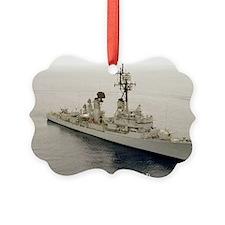 mp uss henry b wilson mini poster Ornament