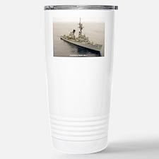 mp uss henry b wilson mini post Travel Mug
