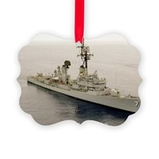 lp uss henry b wilson large poste Ornament