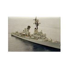 lp uss henry b wilson large poste Rectangle Magnet