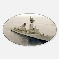 lp uss henry b wilson large poster Decal
