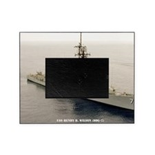 lp uss henry b wilson large poster Picture Frame