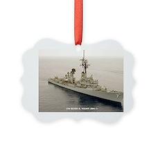 pc uss henry b wilson post card Ornament