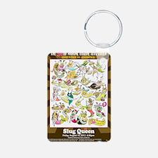 2012 Slug Queen Anniversar Keychains