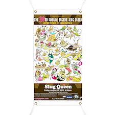 2012 Slug Queen Anniversary Poster Banner